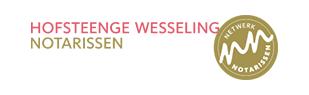 Hofsteenge Wesseling --