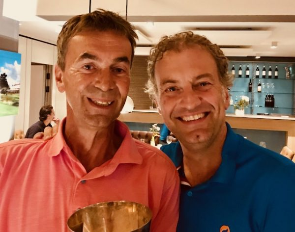 Wilbert Huuskes en Henk Olijdam verrassende winnaars Maandbeker