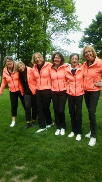 Dames I, 18 holes, gepromoveerd naar de hoofdklasse!
