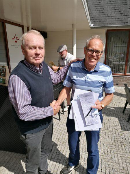 Henk Hoomans wint de Old Grand Dad wedstrijd