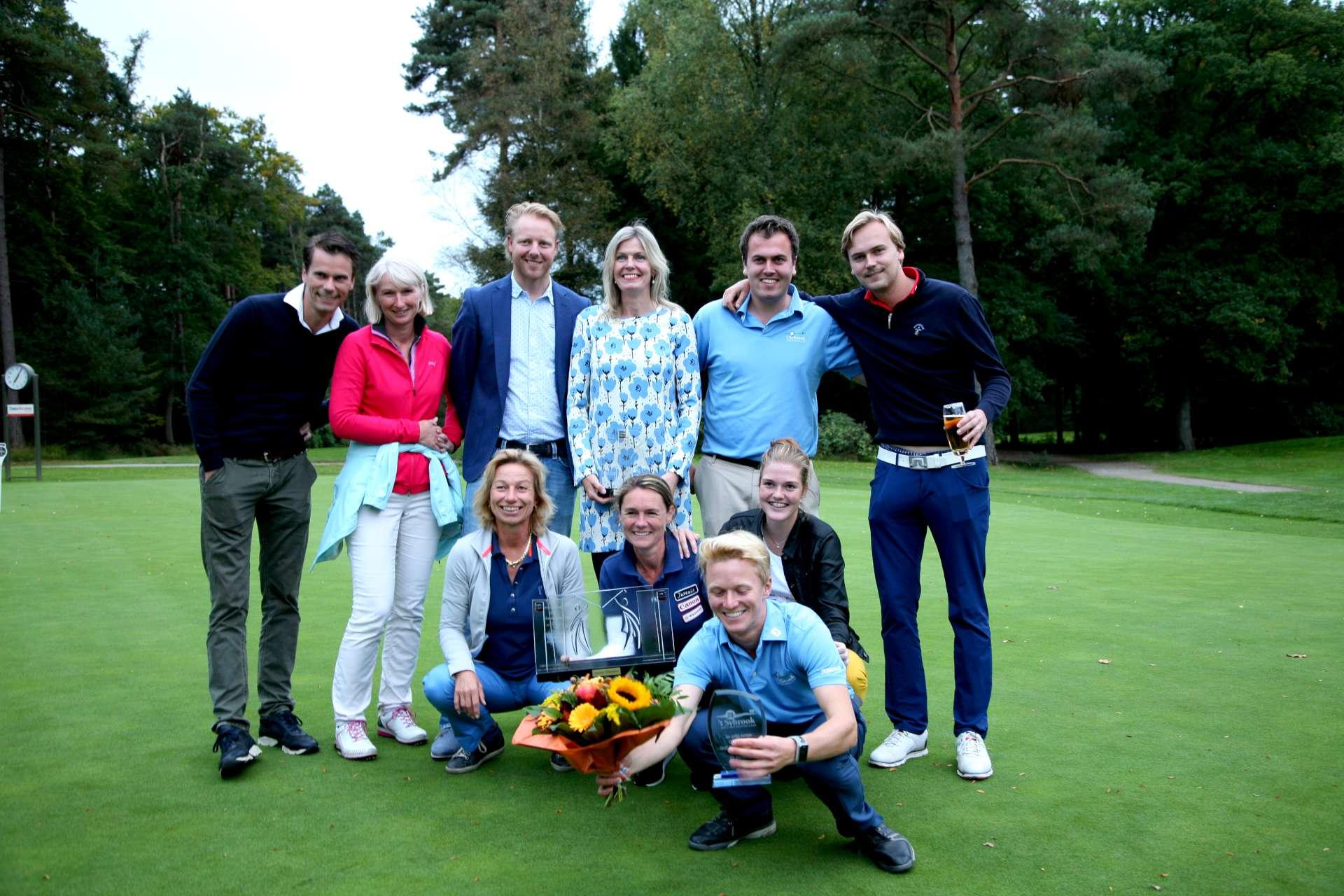 't Sybrook straalt bij Overijsselse Golf Kampioenschappen