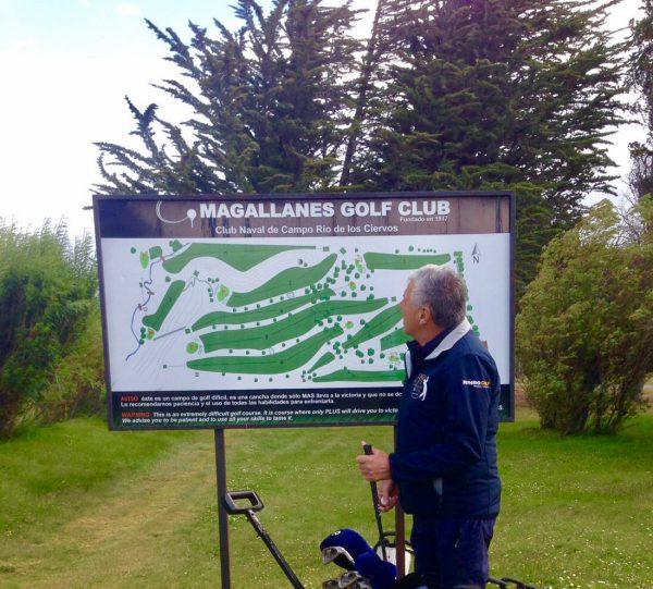 Henk ter Braak speelt op meest zuidelijke golfbaan ter wereld