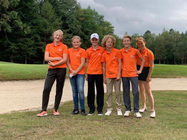 Team 2 Jeugd Competitie 18 holes is kampioen!